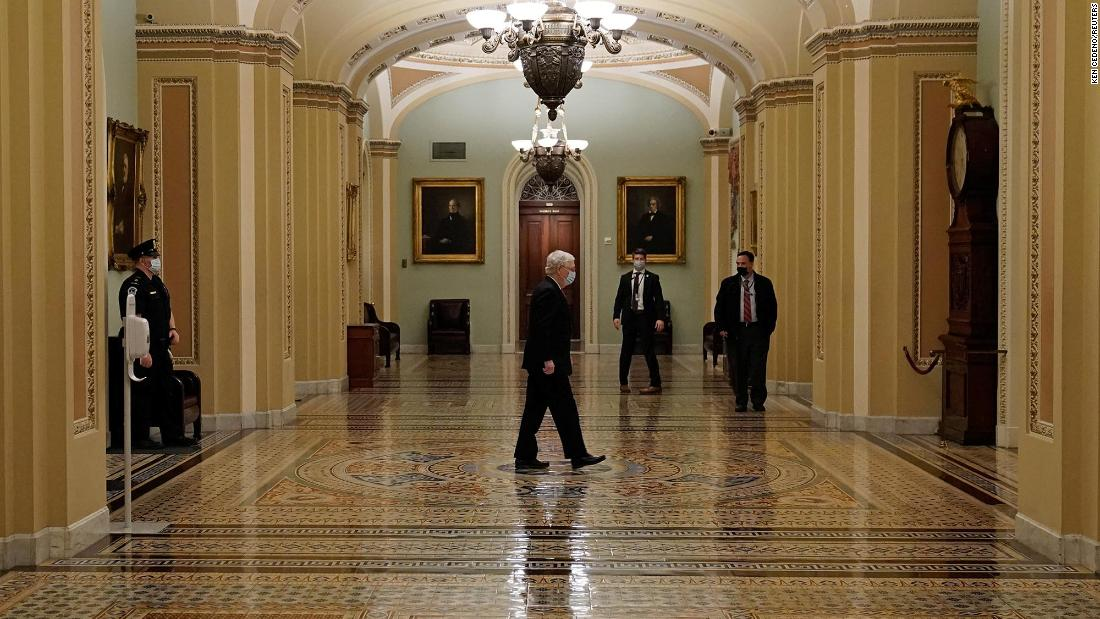 McConnell moves to combine Trump asks in potential 'poison pill' for stimulus checks – CNN