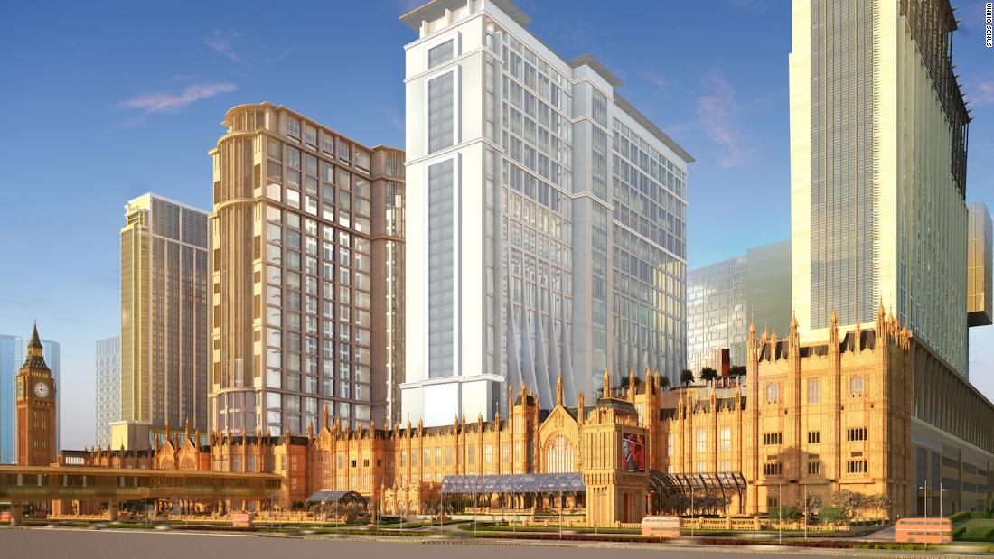 Big Ben and Beckham: Macao's newest resort, The Londoner, is a shrine to all things British