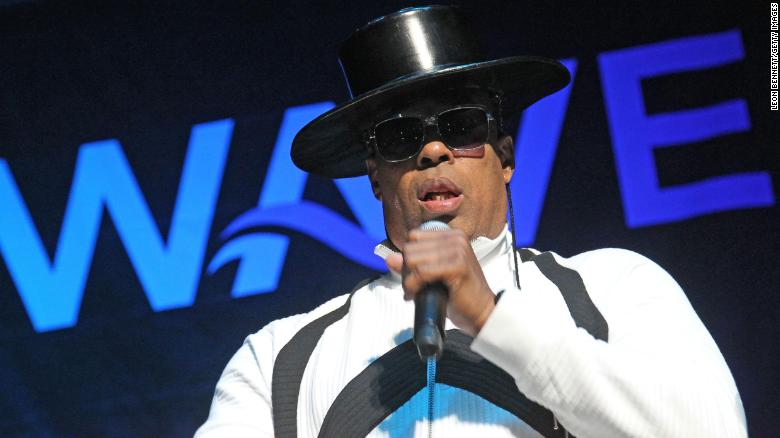 "John ""Ecstasy"" Fletcher of Whodini performs in December 1, 2017, in Anaheim, California. Fletcher died Wednesday."