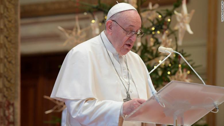 Pope Francis will not lead NYE masses due to sciatic pain