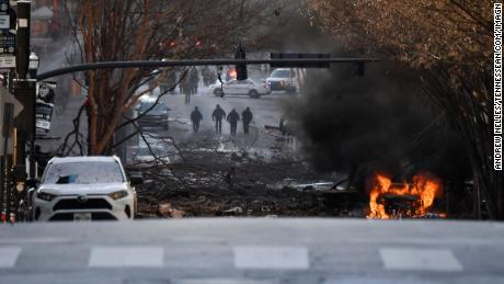 On Friday, December 25, 2020, a car caught fire after an explosion in Nasvihir.