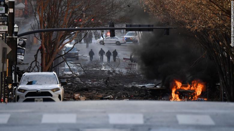 Oficial de policía: la explosión de Nashville parece intencional