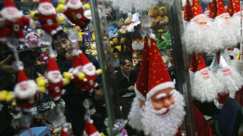China turns off the lights in 'Christmas town' as officials race to meet energy targets