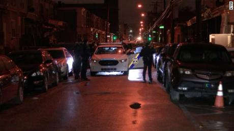 A Philadelphia police officer shot the 43-year-old gunman.
