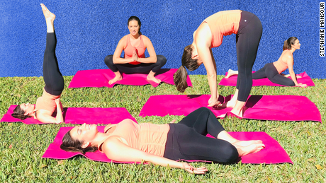Reduce fatigue with this easy yoga routine