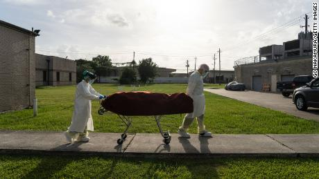 Covid-19 likely ranks as the third leading cause of death in the US in 2020, CDC statisticians say