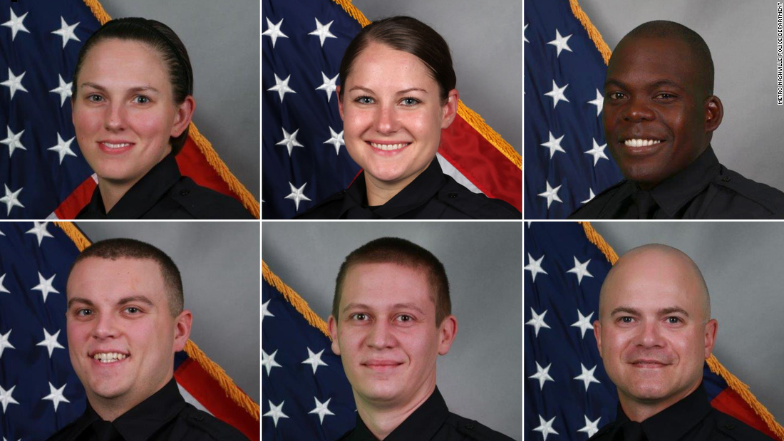 These six police officers sprang into action after warning