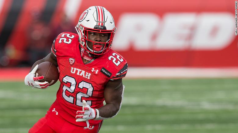 University of Utah football player Ty Jordan dies at the age of 19