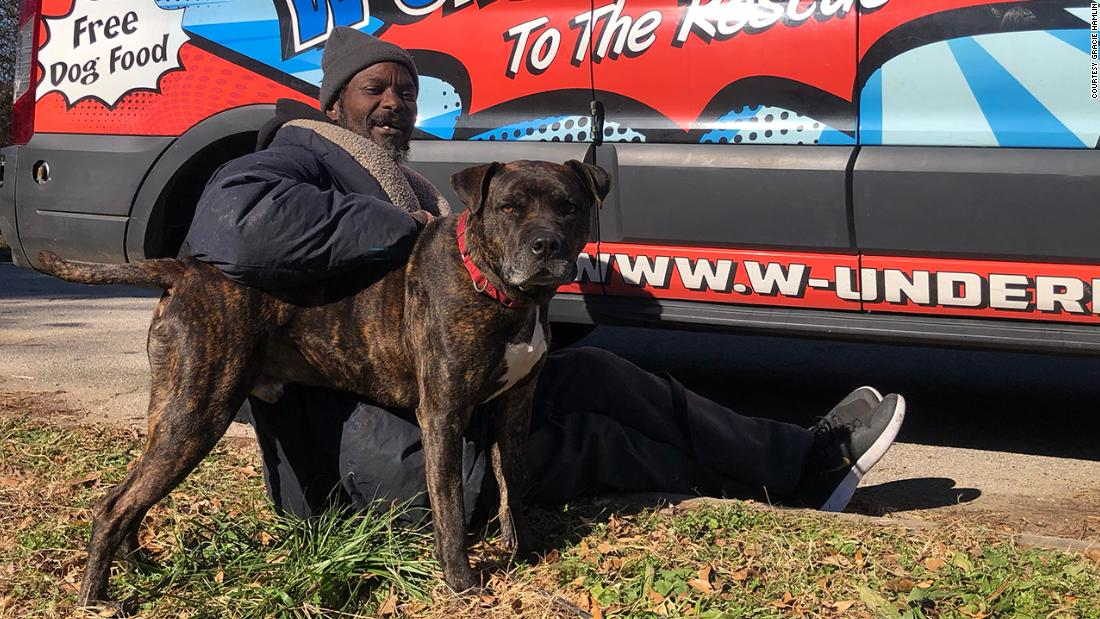 Homeless man rushes into animal shelter after it catches fire