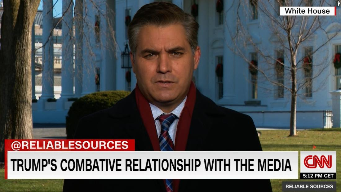 Jim Acosta: I'm not the only White House reporter to receive death threats