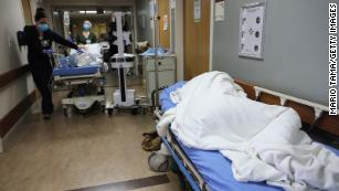 Oxygen supply issues forced five Los Angeles-area hospitals to declare an 'internal disaster'