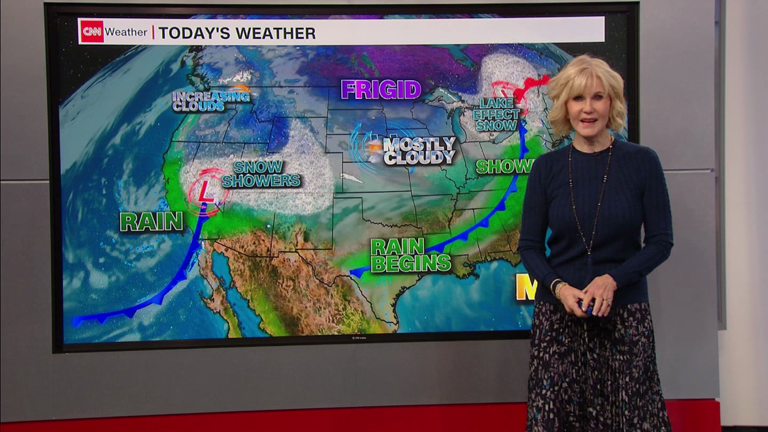 Weather Forecast West Coast Storms Provide Much Needed Drought Relief Cnn Video