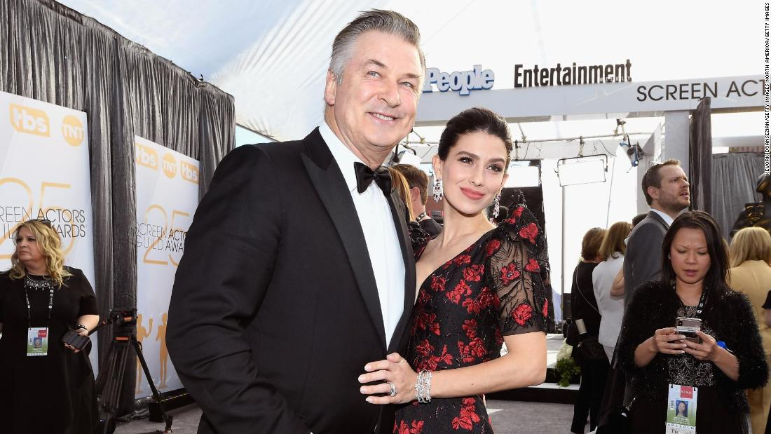 Alec Baldwin and wife Hilaria share name and first photo ...