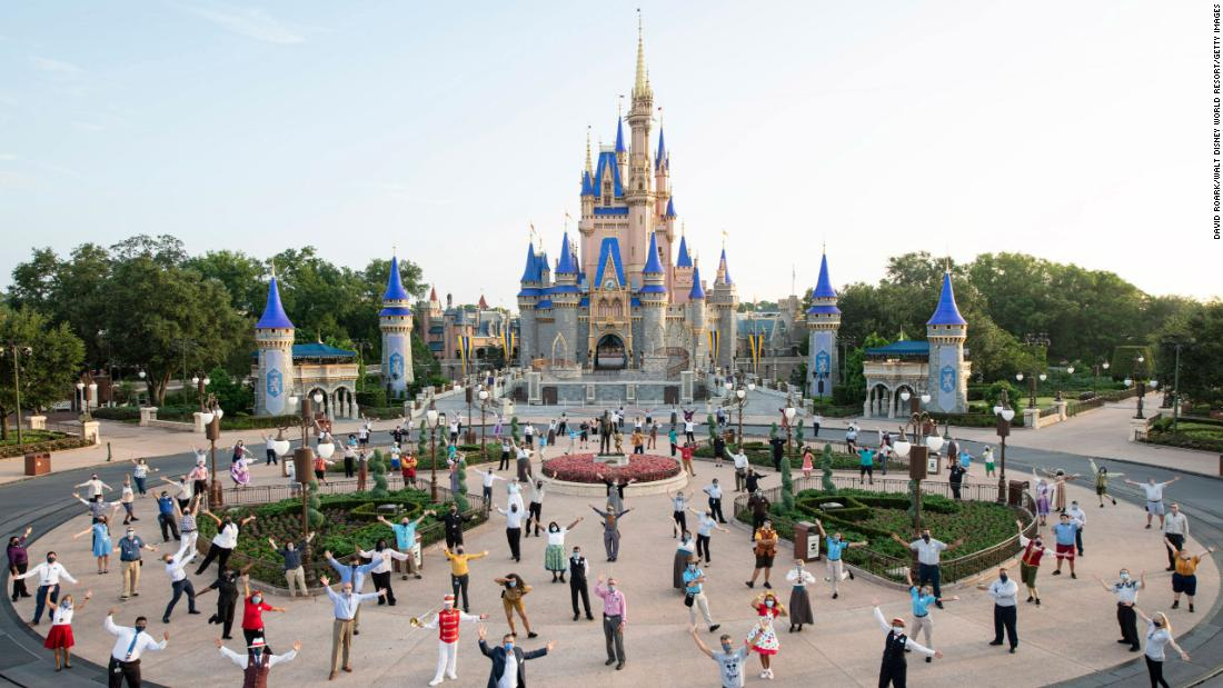 Disney World ends temperature checks for guests and staff
