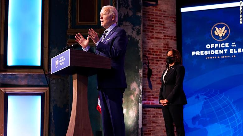 Biden expected to call out Trump administration on pace of vaccine distribution