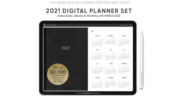 MyDailyPlanners Digital 2021 Planner