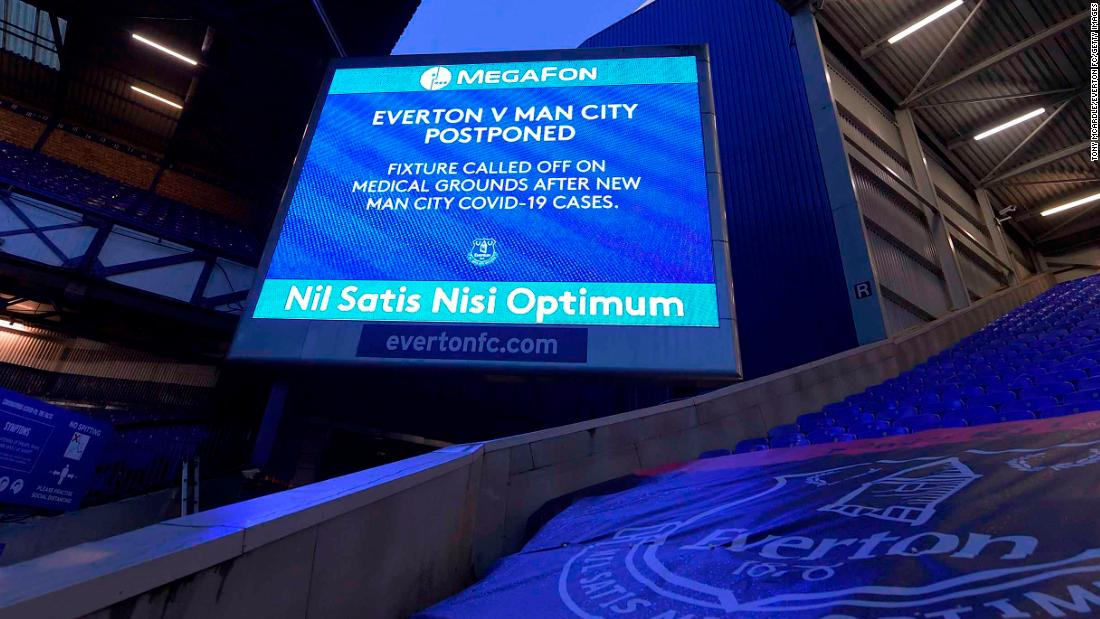 Manchester City's compromised' Covid-19 security bubble forces postponement of game at Everton