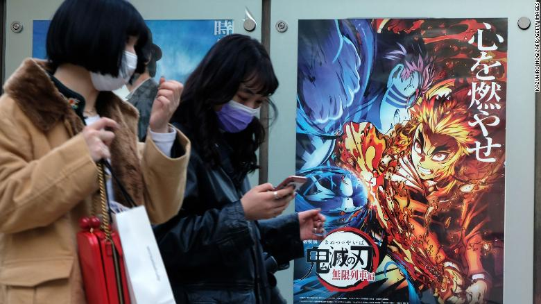 'Demon Slayer' beats 'Spirited Away' to become Japan's highest-grossing movie ever