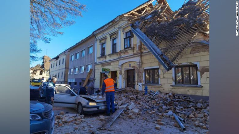 Croatia hit by 6.3 magnitude earthquake
