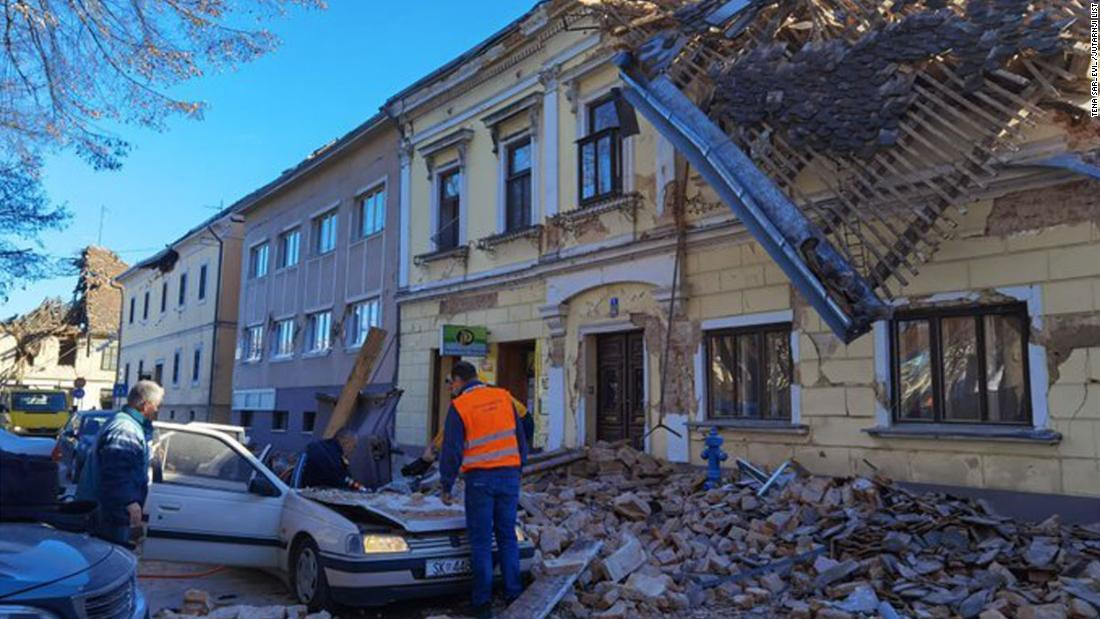Croatia hit by 6.4 magnitude earthquake, leaving at least 6 dead