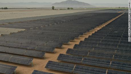Calexico Solar Farm II in Calexico, California