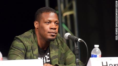 Jazz trumpeter Keyon Harrold, seen here at a conference in 2016.