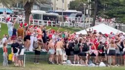 Australia Covid: Sydney Christmas beach party sparks 'backpacker' deportation threat