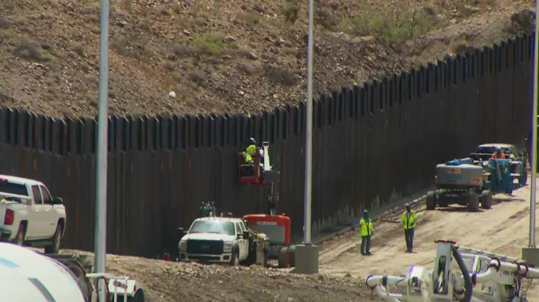 Trump administration locks down border wall contracts, complicating Biden's pledge to stop construction