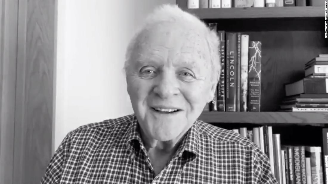Anthony Hopkins gives thanks for 45 years of sobriety