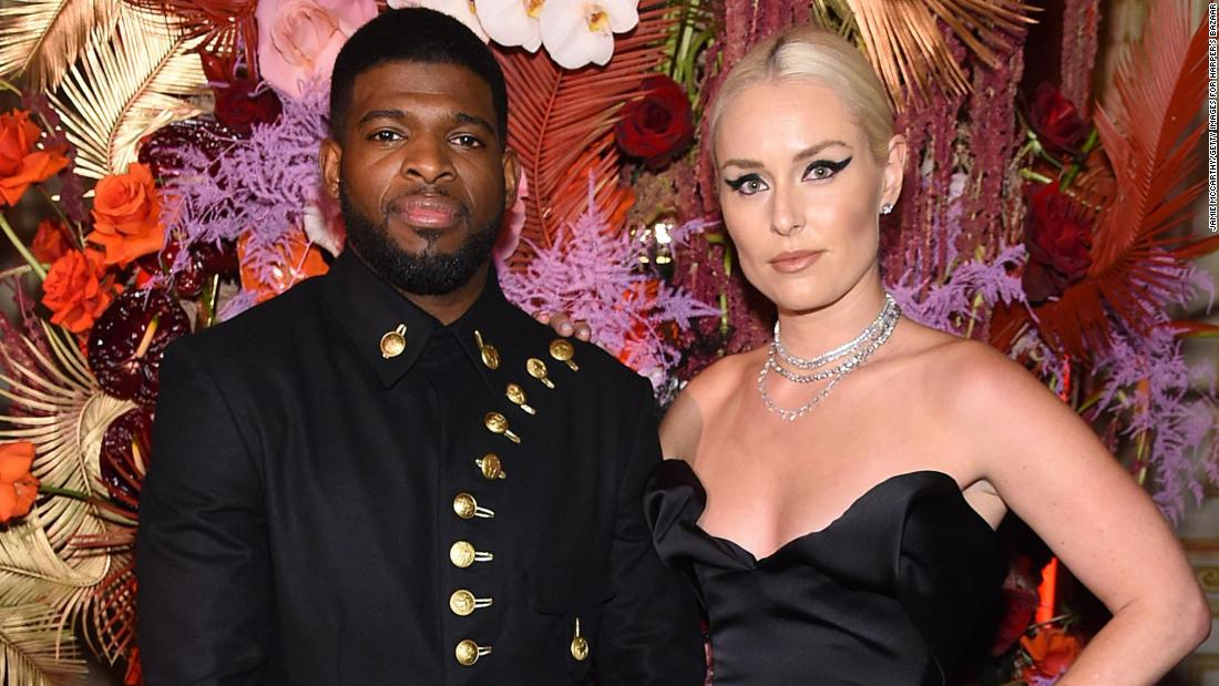 Skier Lindsey Vonn and NHL star P.K. Subban announce breakup following last year's engagement