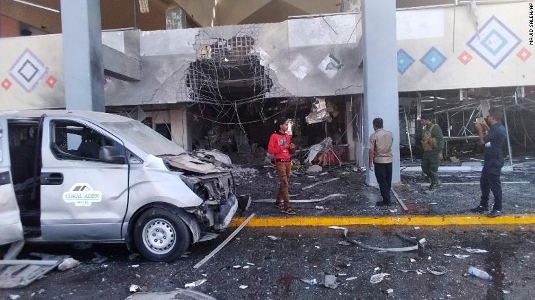 Dozens were injured in the blasts.