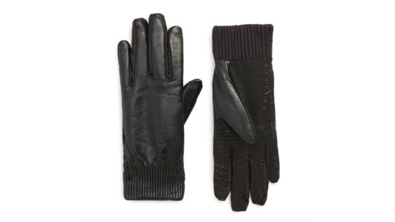 U|R Leather Touchscreen Compatible Glove