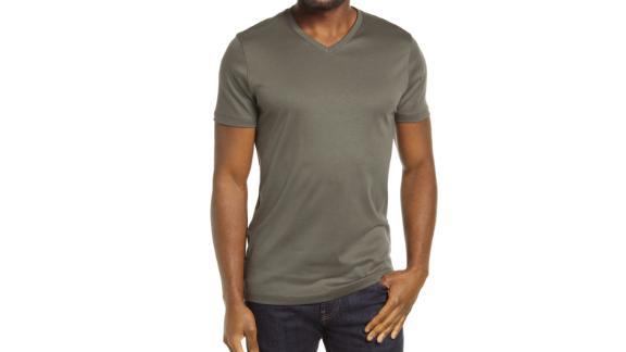 Robert Barrakett Georgia Regular Fit V Yaka T-Shirt