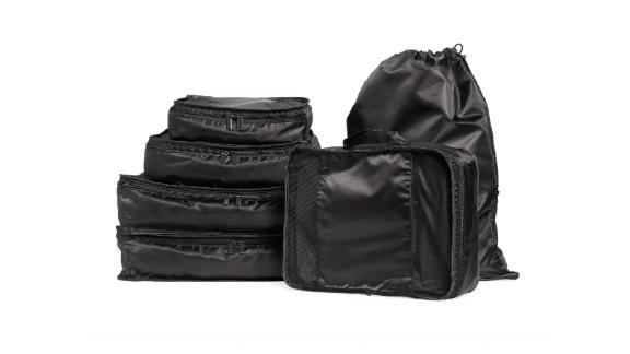 Mytagalongs Six-Piece Packing Cube & Laundry Bag Set