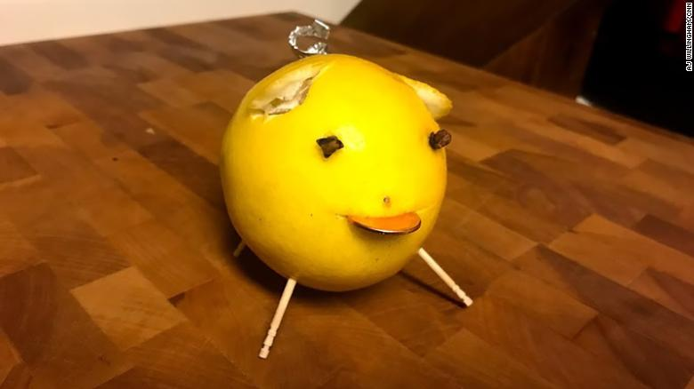 Want good luck in the new year? Make yourself a lemon pig