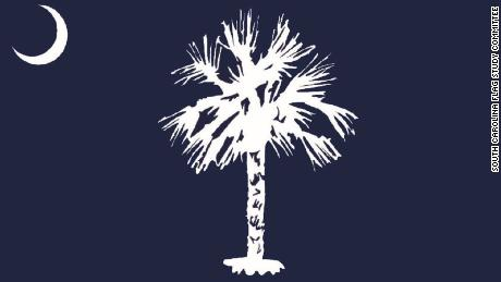 This redesign of South Carolina's state flag was scrapped after state residents criticized the illustration of the palmetto tree in its center, which was compared to a toilet brush.