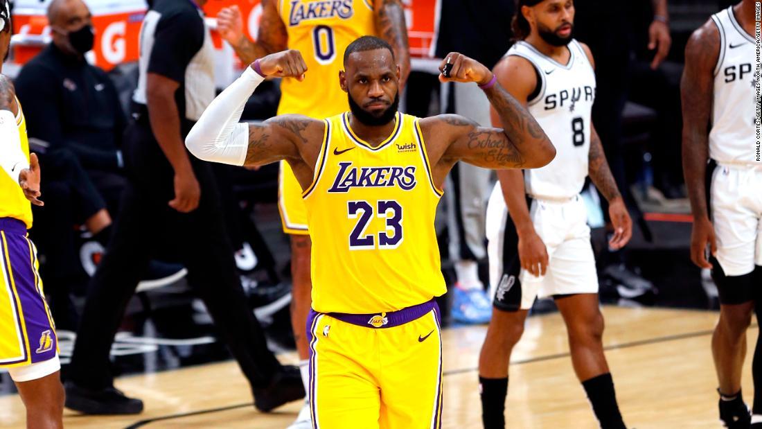 LeBron James celebrates scoring milestone on 36th birthday – CNN International