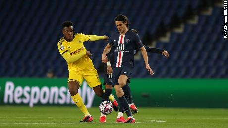 Sebelum pindah ke United, Cavani bermain untuk Paris Saint-Germain antara 2013 dan 2020.
