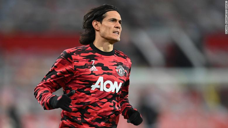 Manchester United forward Edinson Cavani handed three-match ban by FA over social media post