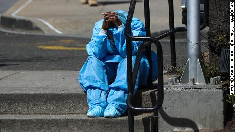 The grinding pandemic has taken a mental and physical toll on many health care workers.