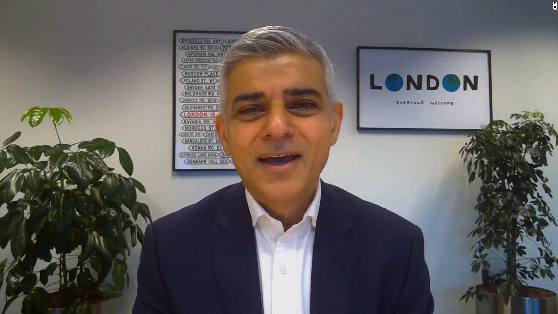 London mayor: We have a record number of Covid-19 hospitalizations