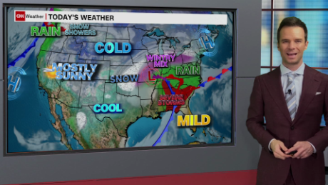 Weather Map Northwest Us Weather forecast: Ringing in the New Year with rain, snow, and ice