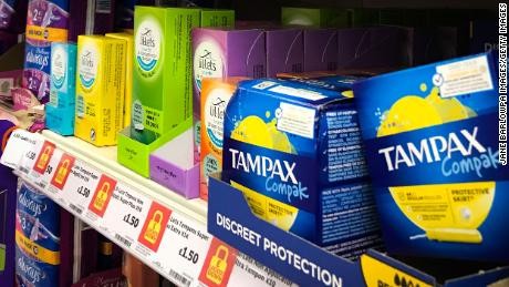 Menstrual products will no longer be subject to VAT.