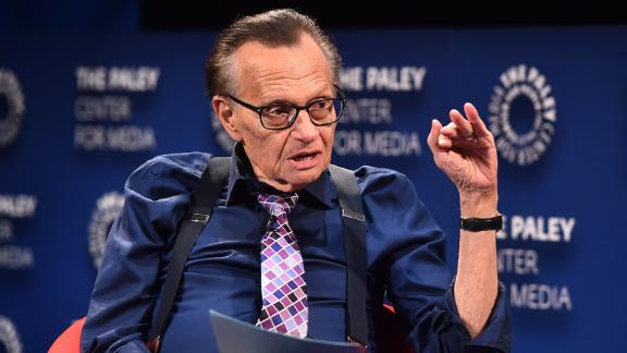 BEVERLY HILLS, CA - AUGUST 01:  Larry king attends The Paley Center For Media Presents: A Special Evening With Dionne Warwick: Then Came You at The Paley Center for Media on August 1, 2018 in Beverly Hills, California.  (Photo by Alberto E. Rodriguez/Getty Images)