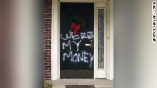 Mitch McConnell's Louisville home vandalized