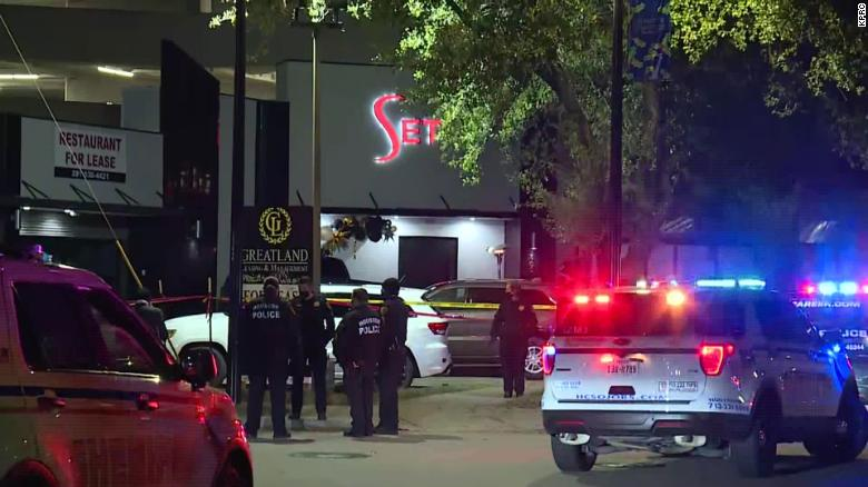 "Three sheriff""s deputies shot and 1 woman killed outside Houston-area nightclub"