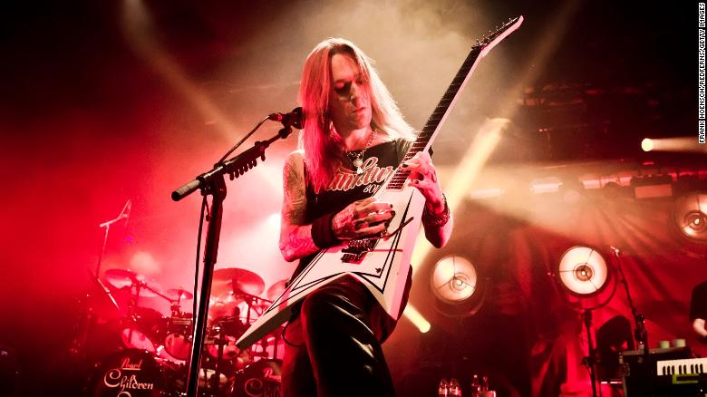 Alexi Laiho, front man for Finnish metal band Children of Bodom, dies suddenly