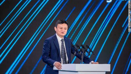 جک ما در اجلاس شرکتهای سبز چینی در سپتامبر گذشته سخنرانی کرد.