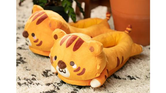 Smoko Jojo Tiger USB Heated Slippers