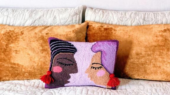 Jungalow Duet Hook Pillow by Justina Blakeney